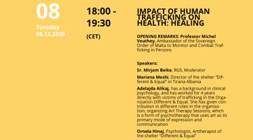 Impact Of Human Trafficking On Health: Healing