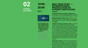 International Prosecution Of Human Trafficking — Best Practices